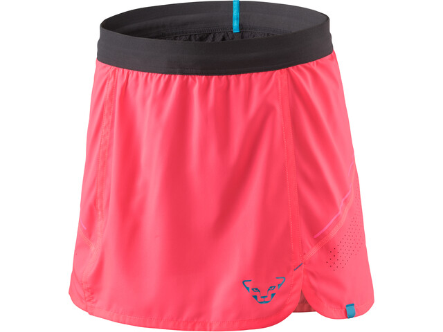 Dynafit Alpine Pro 2in1 Skirt Dame fluo pink